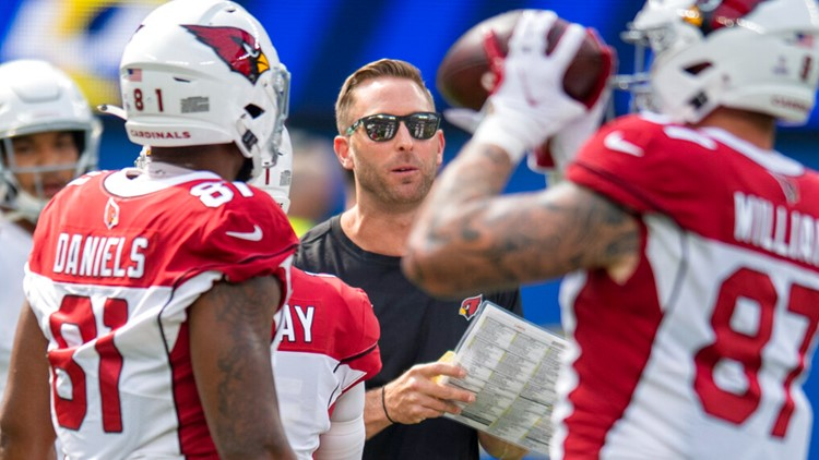 Cardinals GM, head coach, others test positive for COVID-19; will miss Sunday's game
