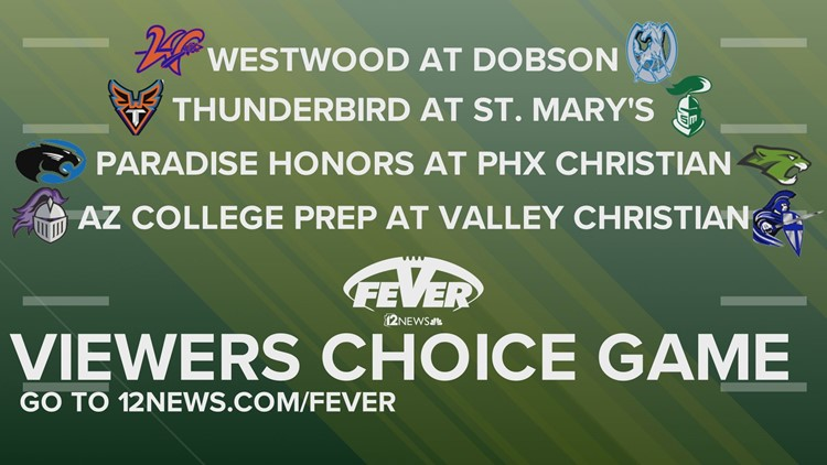 VOTE: Friday Night Fever Week 7 Viewer's Choice Game