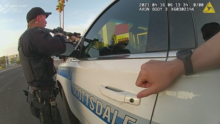 Burglary call turns into life-saving rescue for Scottsdale police officer