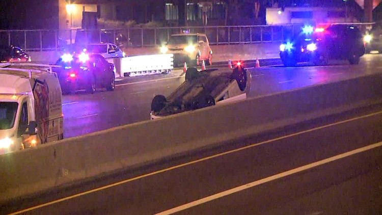 I-17 pedestrian crash