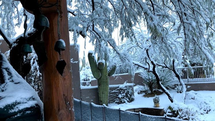 Actualizaciones Sobre La Tormenta Invernal El Día De Más Nieve En Flagstaff Con Un Récord De Casi 3 Pies De Nieve Registrados 12news Com