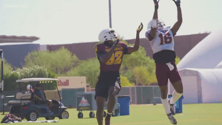 Arizona State puts on the pads for the first time in 2020