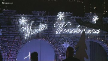 Submit your holiday lights display to the 12 News map