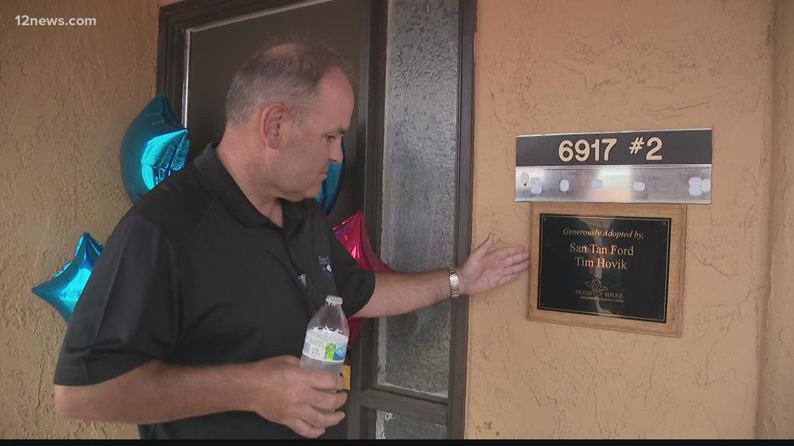 Local charity, House of Refuge, paying back good deed to San Tan Ford