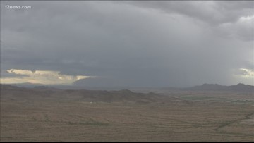 Monsoon weather returns, isolated chance of storms in the Valley