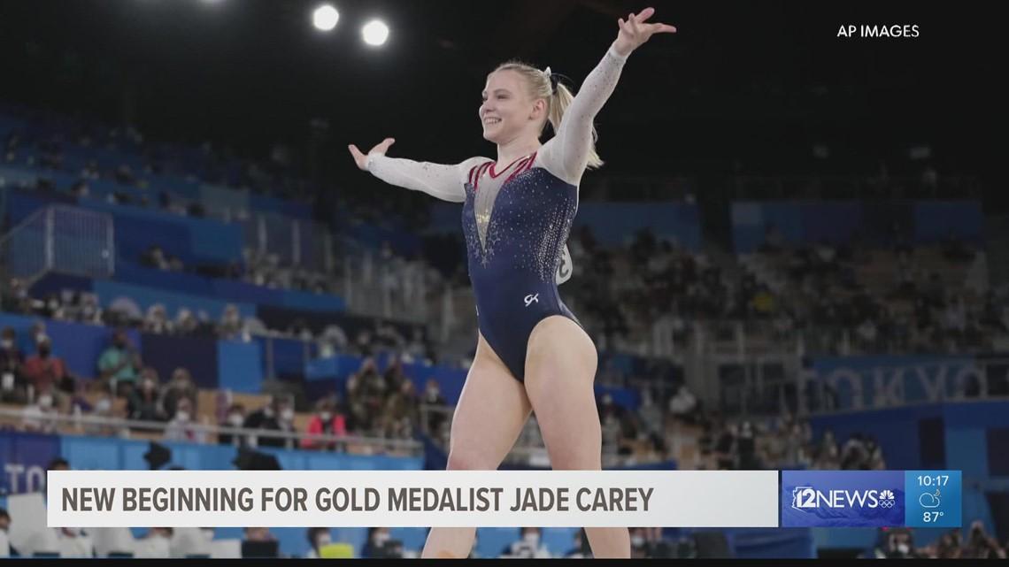 Phoenix gold medalist Jade Carey prepares to start college at Oregon State