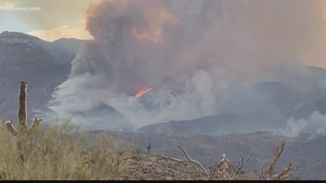Wildfires in Arizona: July 8 morning update