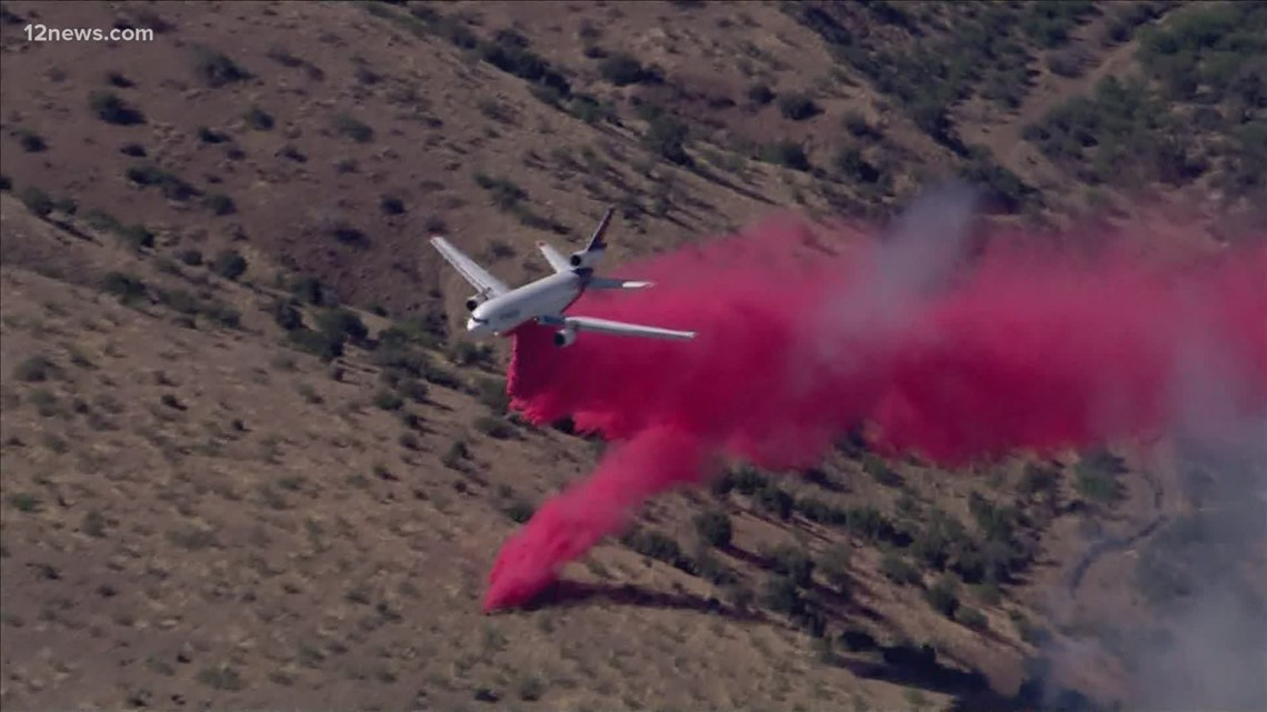 BREAKING: Copper Canyon Fire shuts down portion of the U.S. 60