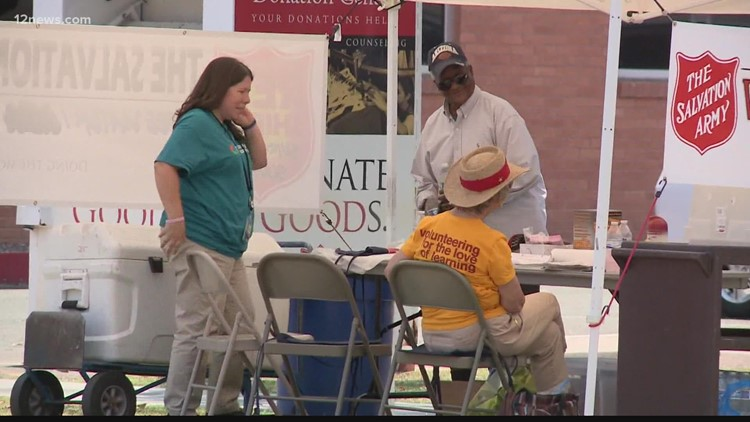 Salvation Army setting up heat relief stations as extreme heat hits the Valley