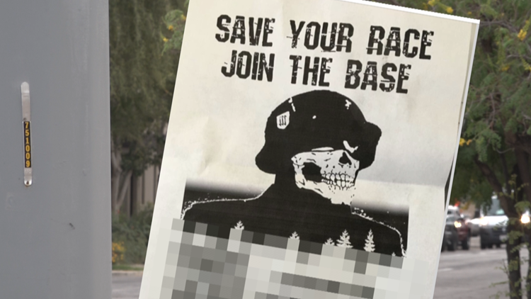 Flyer for white supremacy group found in downtown Phoenix