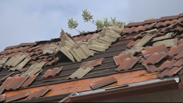 Neighbors in Phoenix stuck with roof and water damage after overnight storm