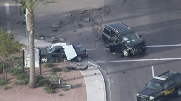 Breaking: Man killed in crash in Queen Creek