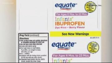 Retiran del mercado ibuprofeno líquido para niños vendido en Walmart y CVS