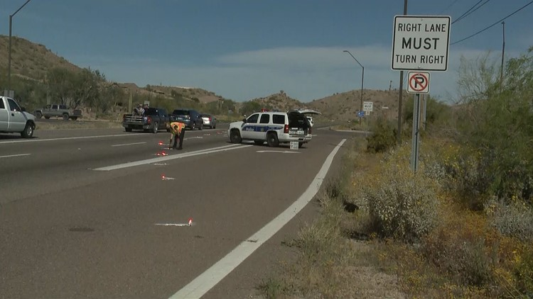 Motorcyclist killed in Sunday crash on Carefree Highway