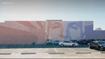 Local artists raise funds to create mural honoring John McCain