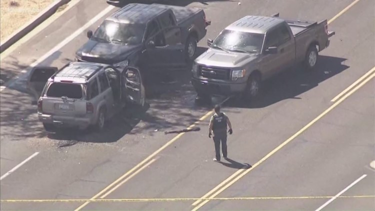 Neighbors run for cover during Ahwatukee shootout