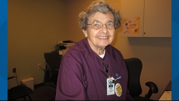 90-year-old Tempe woman to retire after nearly 6 decades of hospital volunteering