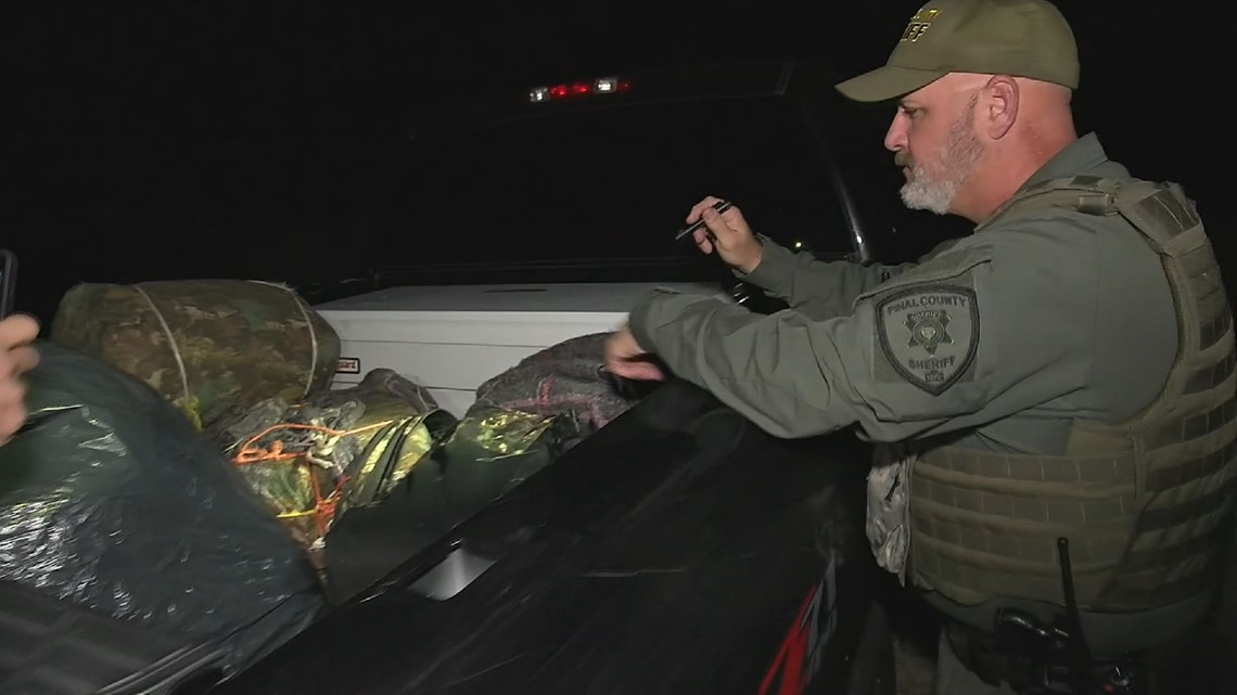 'What comes in here ends up all over the country.' Pinal County deputies work undercover to stop drug smuggling in Arizona