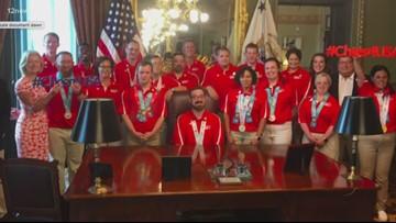 Arizona Special Olympic athletes visit White House