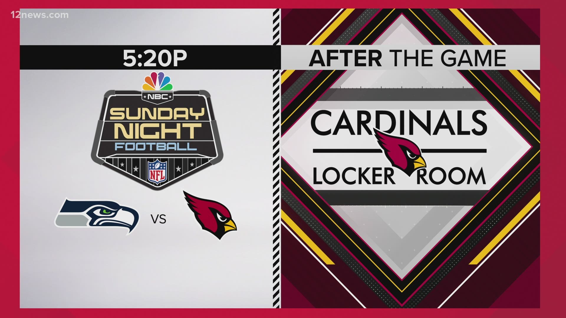 Cardinals Seahawks Game Moved To Sunday Night Football On Nbc 12 News 12news Com