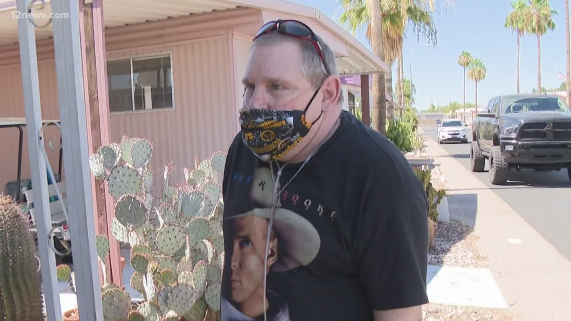 Miracle Makers: Single dad battling multiple health issues gifted air conditioning unit