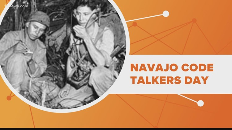 Honoring those who served for Navajo Code Talkers Day