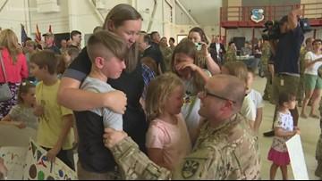 Those Who Serve: Dozens of soldiers return to Arizona