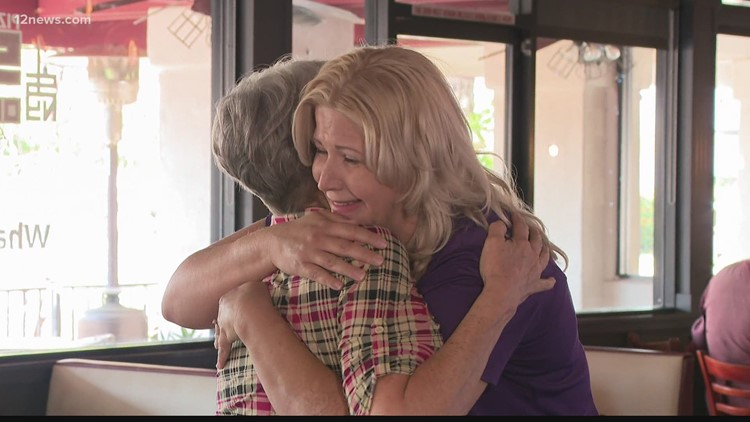 Valley mom meets blood donor who helped save her daughter's life