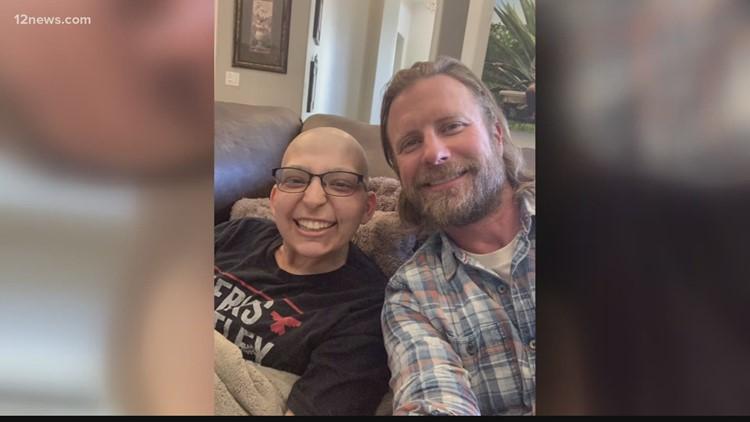 Dierks Bentley comforted Valley woman in her final days