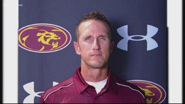 Former Mountain Pointe coach accused of leaking team's game plans