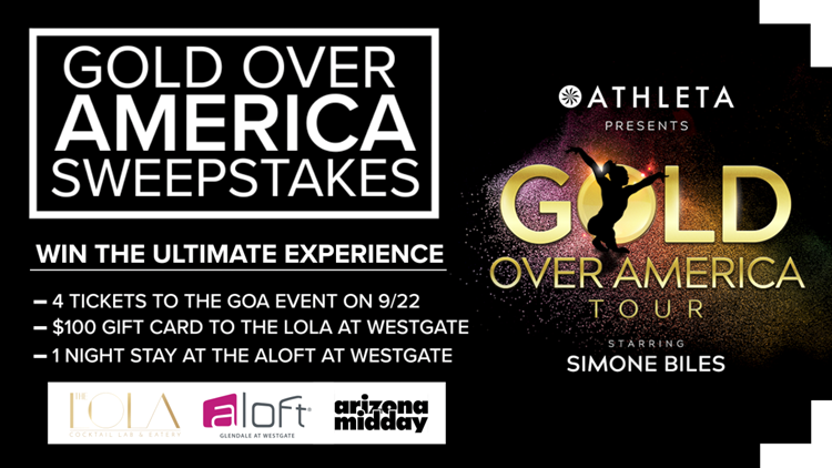CONTEST ENDED: GOLD OVER AMERICA SWEEPSTAKES