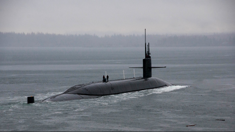 The Ohio-class ballistic-missile submarinedepartsfor strategic deterrent patrol in 2016. The boat recently completed an overhaul, which will extend the life of the submarine for another 20 years. (Photo:Mass Com.Spl.2nd Class Amanda R. Gray)