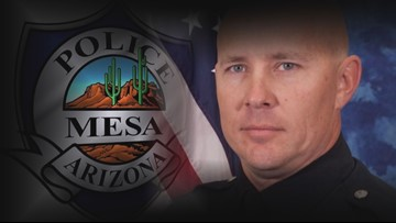 'I love my husband': Wife of Mesa officer accused of sexual harassment speaks out
