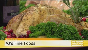 Holiday Meals Made Easy with AJ's Fine Foods