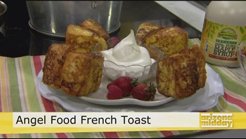 Jan's Heavenly French Toast Angel Food Cake