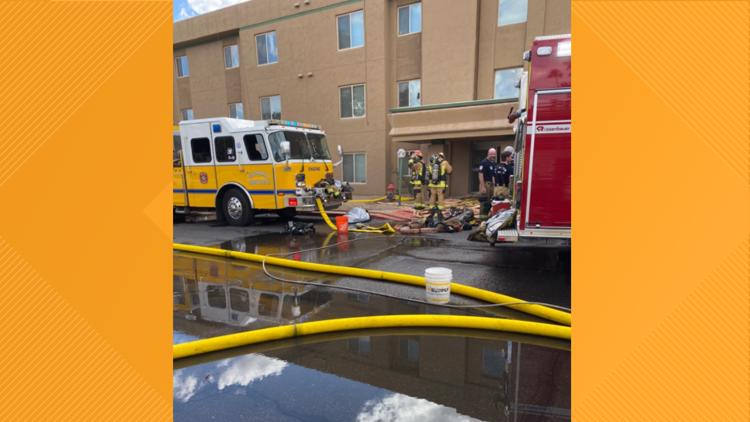 Glendale fire displaces 46 people at independent living facility