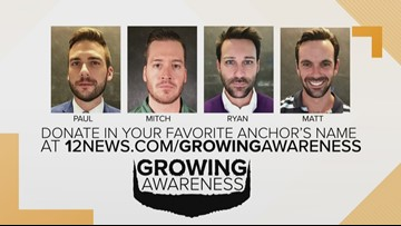 Help raise awareness for men's health during 'No Shave November' | Growing Awareness