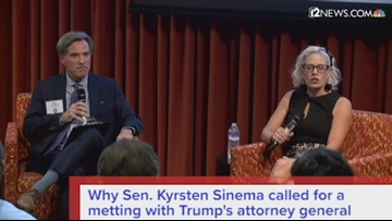 Sen. Kyrsten Sinema has questions for Trump's AG