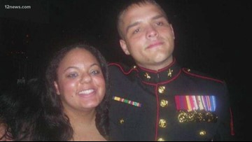 Marine spent Christmas in hospital after being hit by red-light runner