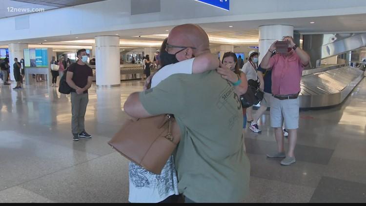 Mesa man meets daughter after 34 years