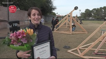 A+ Teacher of the Week: An East Valley teacher takes students' work to the next level