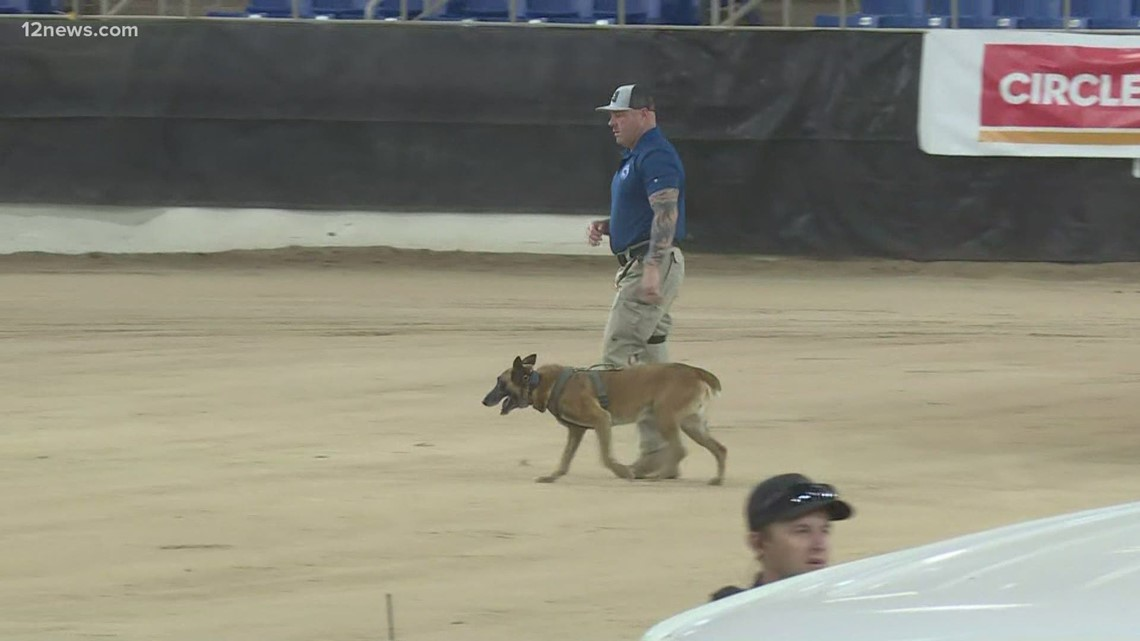 Dog teams compete in Desert Dog Police K9 trials in Scottsdale