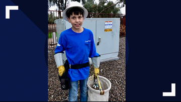 This boy wanted to help when he saw an unlocked fuse box. Now SRP is honoring him