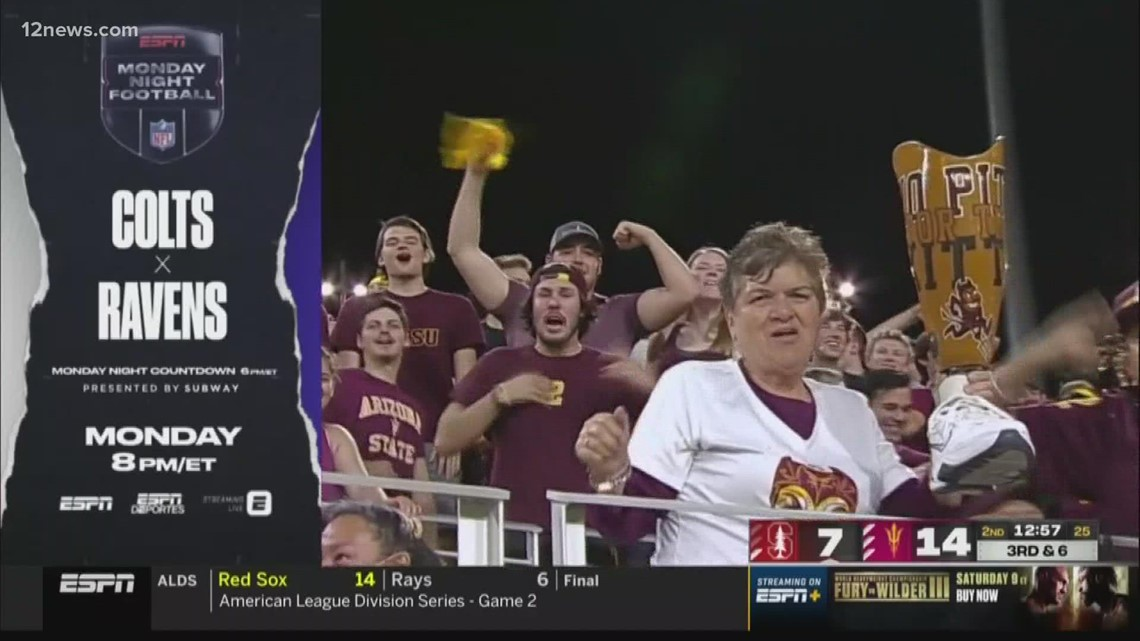 Meet the family behind that viral prosthetic leg from ASU's win over Stanford