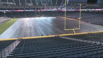 Chase Field gears up for the Cheez-It Bowl on December 27