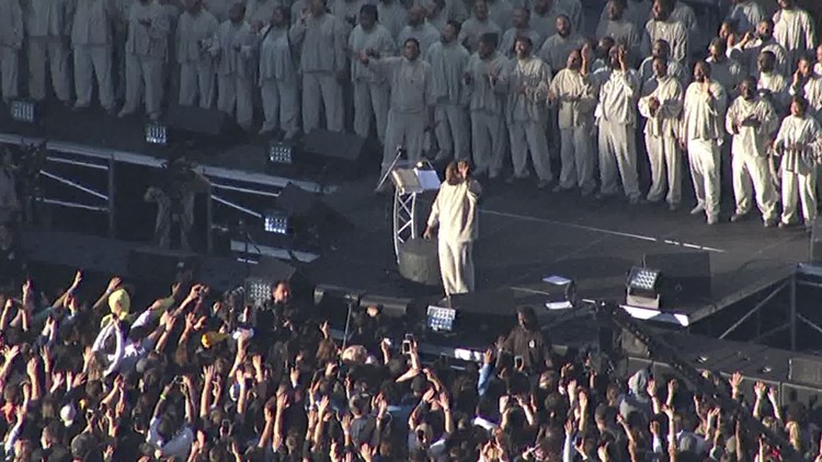 Kanye West in Tempe
