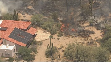 People allowed back in their homes after north Scottsdale fire causes evacuations