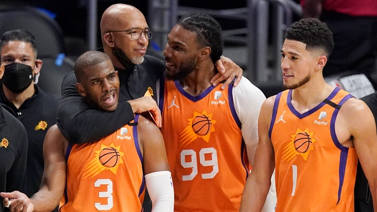 12Sports goes 1-on-1 with Phoenix Suns head coach Monty Williams
