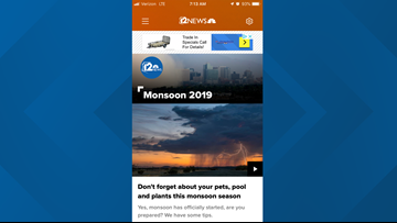 Download the new 12 News app for iPhone or Android