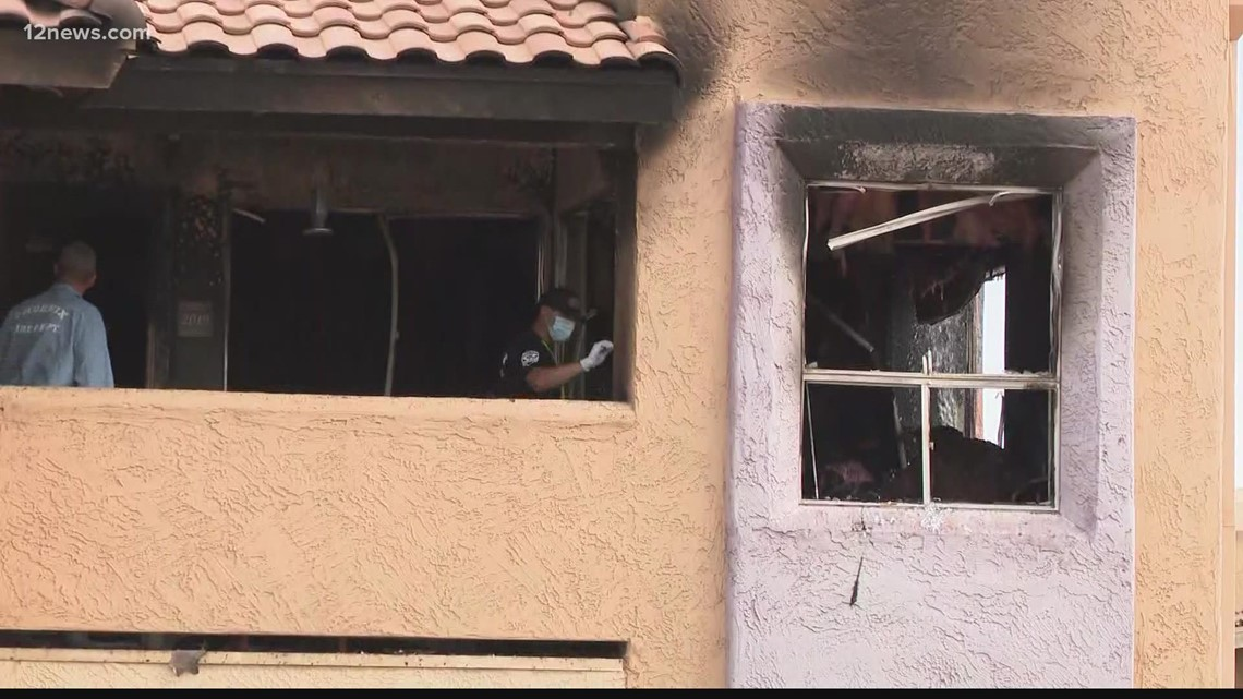 Man set fire to his Phoenix apartment before jumping from second-story window